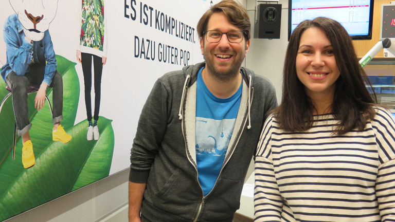 Sebastian Sonntag und Marie Labude.