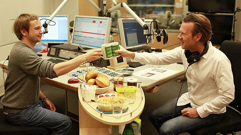 """Robert Müller-Grünow von der Kölner Marketingagentur """"Scentcommunication"""" bei Markus Dichmann im Studio"""