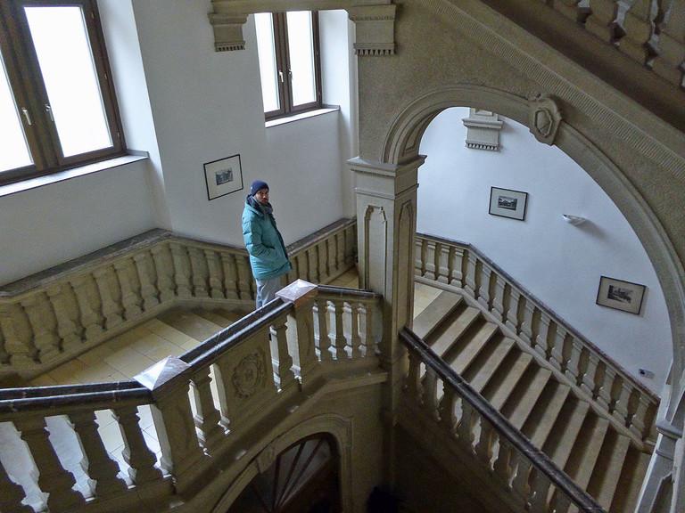 Fritz im Kloster Himmerod