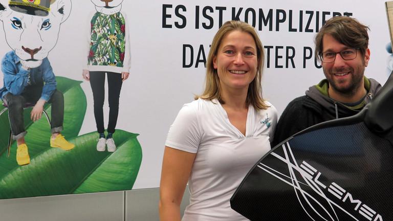 Doris Hovermann besucht Sebastian Sonntag im DRadio-Wissen-Studio.