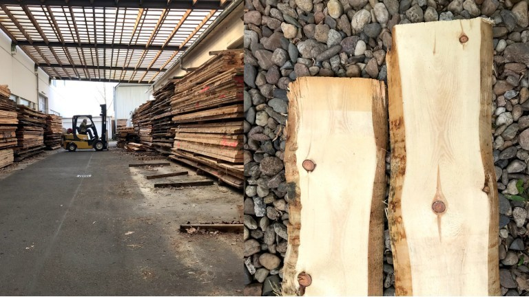 Zirbenholz im Baumarkt