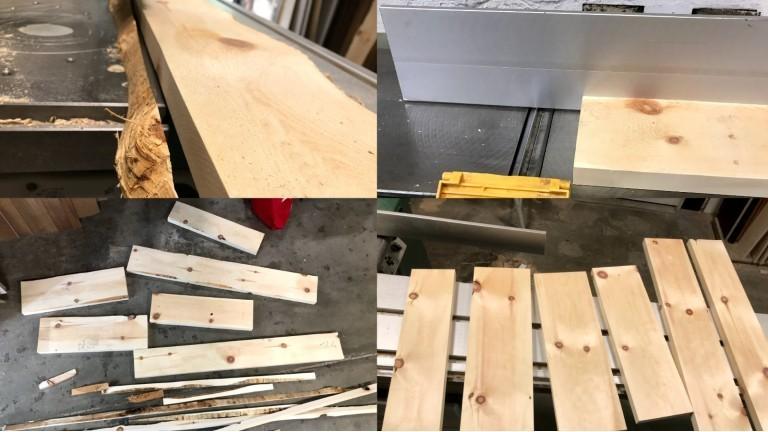 Zirbenholz in der Verarbeitung