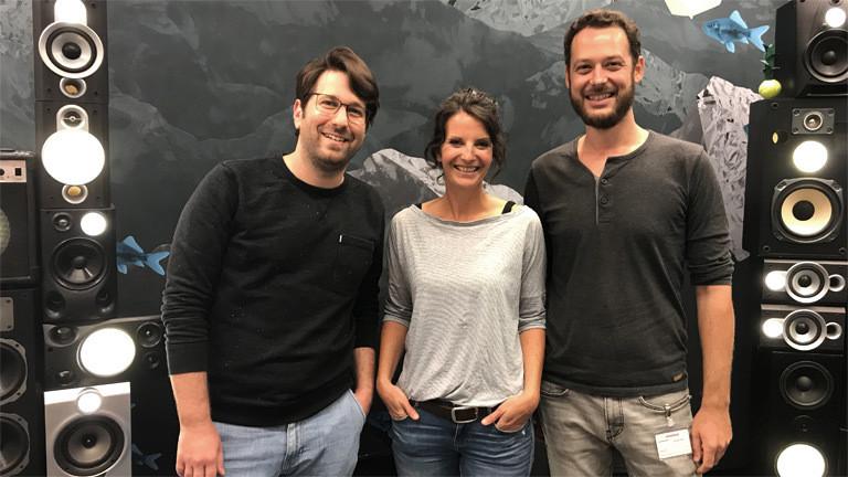 Ramona Krieger und Ulrich Pingel im Deutschlandfunk-Nova-Studio.