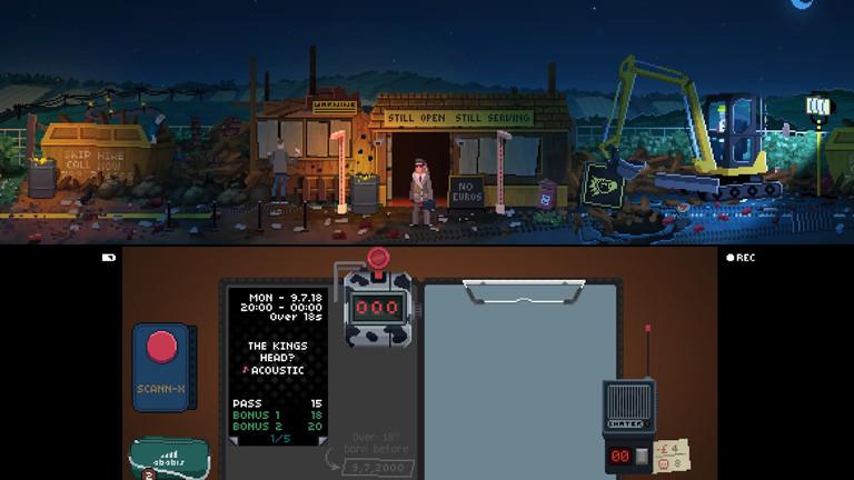 """Screenshot von Videospiel """"Not Tonight"""""""