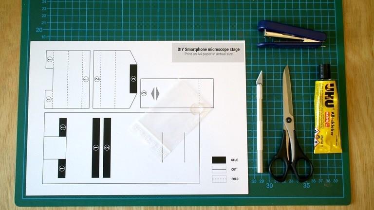 Utensilien fürs DIY-Mikroskop