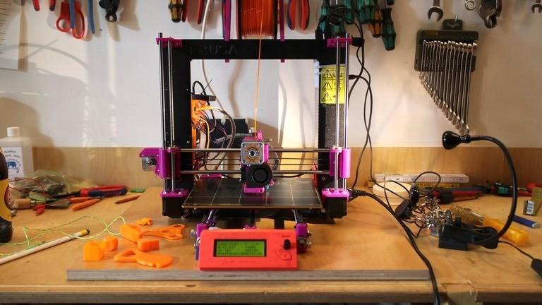 Selbstgebauter 3D-Drucker