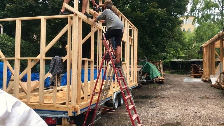 Bau eines Tiny House