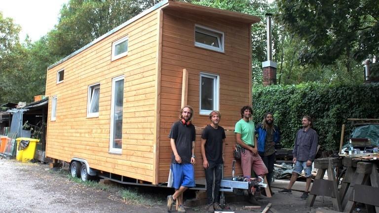 Tiny House Bauen Moritz Metz Bastelt Am Mini Heim Dlf Nova