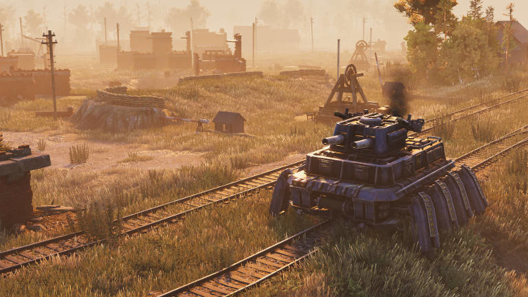 "Screenshot aus Game ""Iron Harvest"""