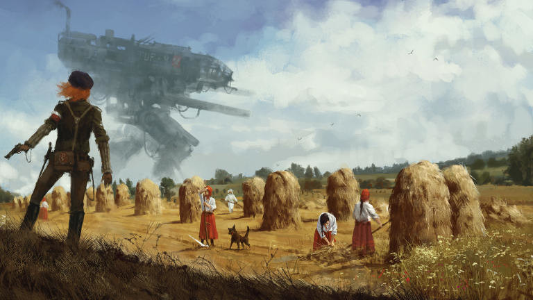 "Screenshot Game ""Iron Harvest"""