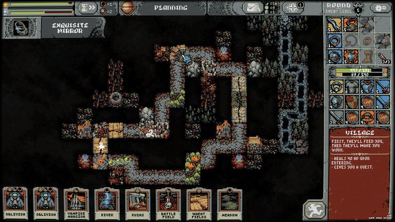 Screenshot des Games Loo Hero von Four Quarters