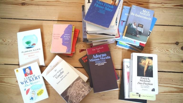 Netzbasteln #130 Aber wohin mit kistenweise verstaubten Altbüchern?