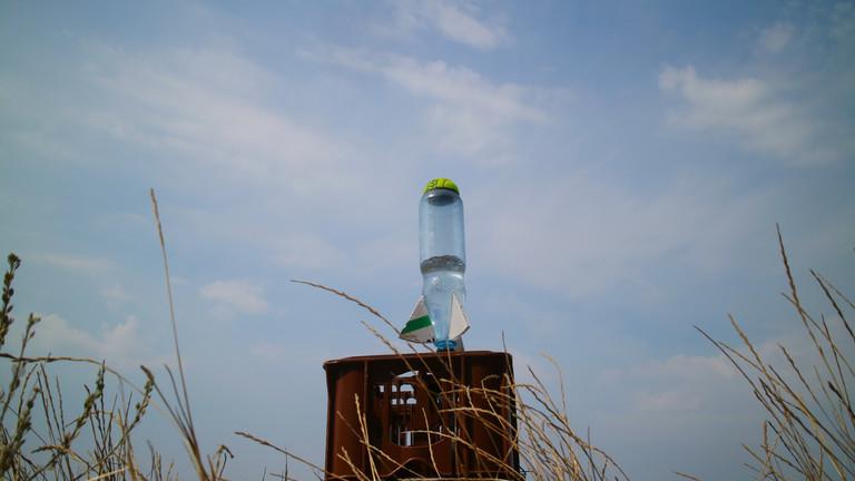 Netzbasteln: Wasserrakete bauen mit Moritz Metz