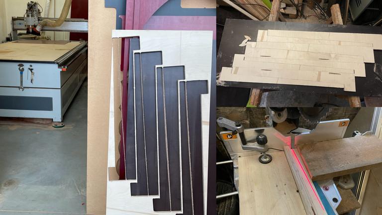Netzbasteln: Einen Linoleum-Tisch bauen