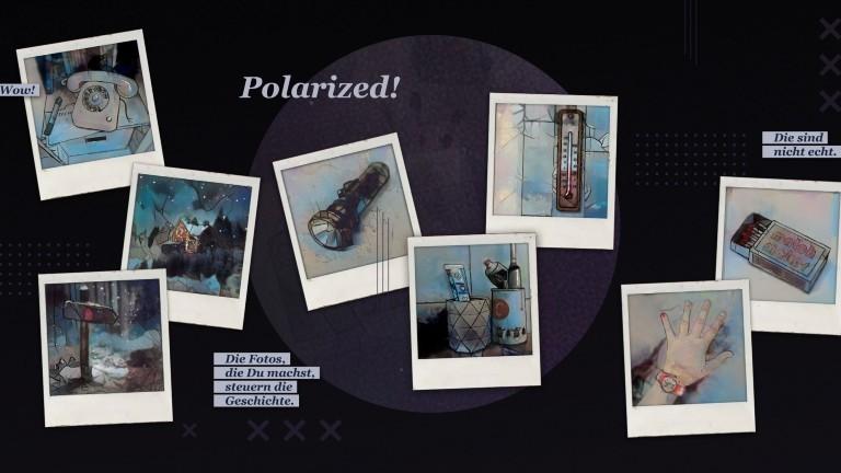 """Polaroids aus dem Spiel """"Polarized!"""""""