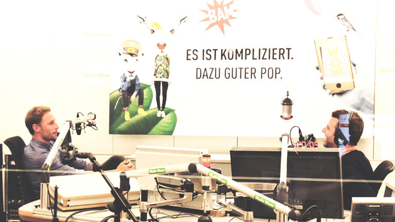 Benedikt Höwedes im DRadio Wissen Studio