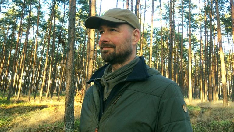 Carsten Jebens im Wald