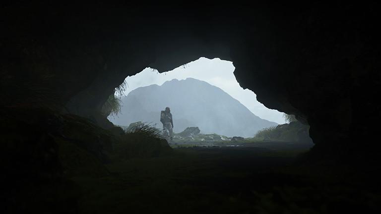 Sam bei der Höhlenerkundung