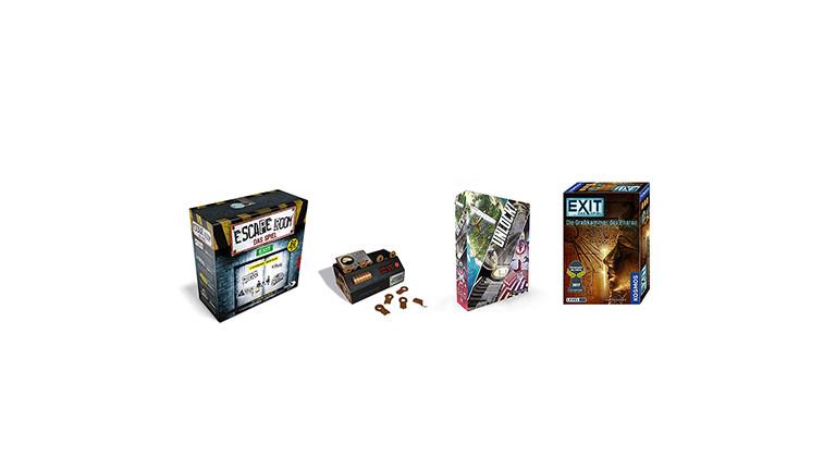 Escape-Spiele für daheim: Escape Room, der Chrono Decoder, Unlock und Exit, Das Spiel