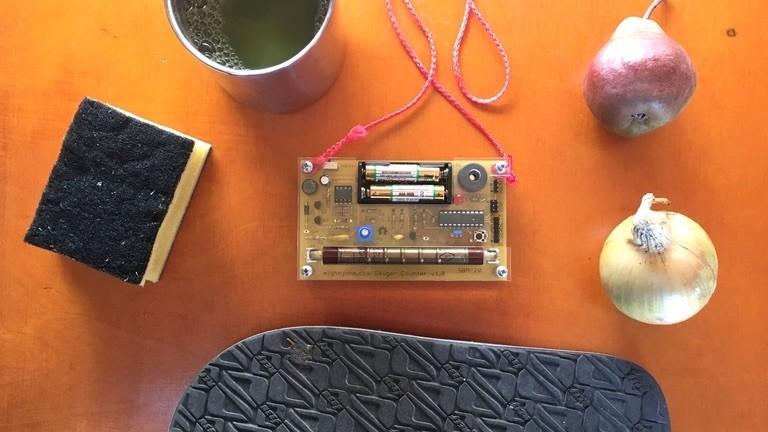 Einen Geigerzähler bauen auf dem #CCCamp19