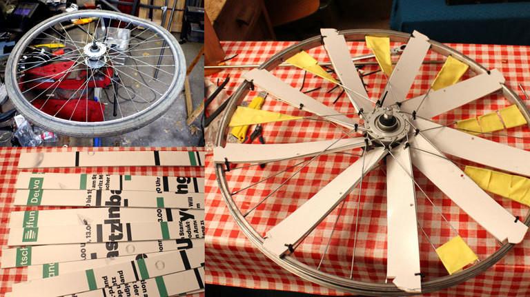 Windrad bauen