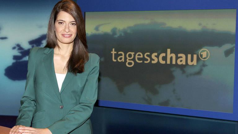 Moderatorin und Tagesschausprecherin Linda Zervakis.