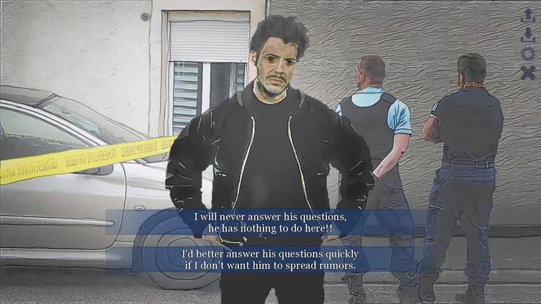 """Screenshot des Spiels """"Lie in my Heart"""" von Expressive Games"""