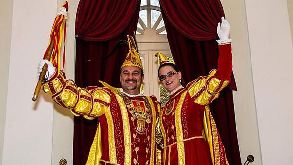 Prinz Ayhan I. & Godesia Uta von Bad Godesberg 2014