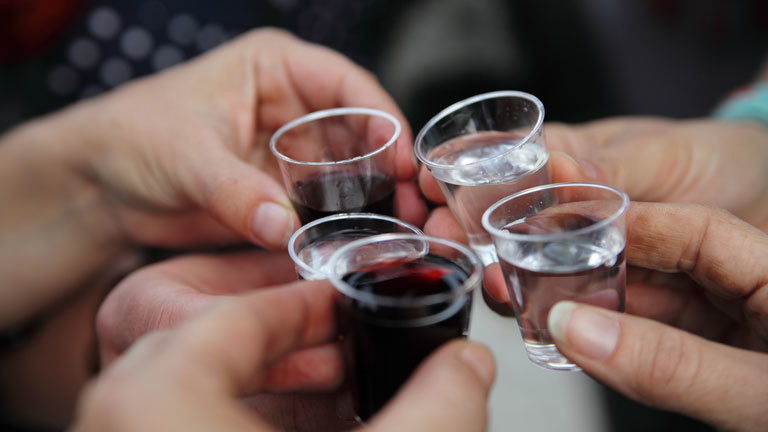 Trinken Alkohol
