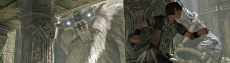 """Eine Szene aus dem Spiel """"Shadow of the Colossus""""."""