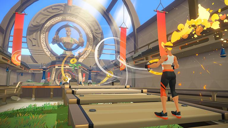 Screenshot Ring Fit Adventure