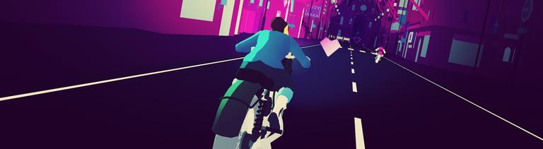 "Screenshot aus dem Game ""Sayonara Wild Hearts"" von Simogo"