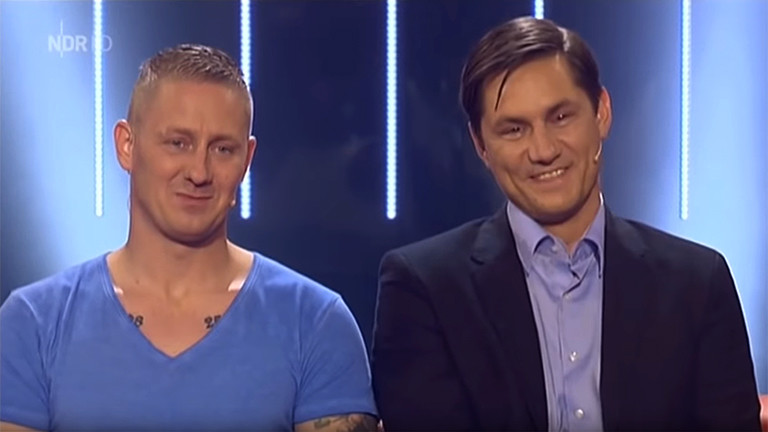 """Chris Fritsche und Ronny Stein in der NDR-Gameshow """"Kaum zu glauben"""""""