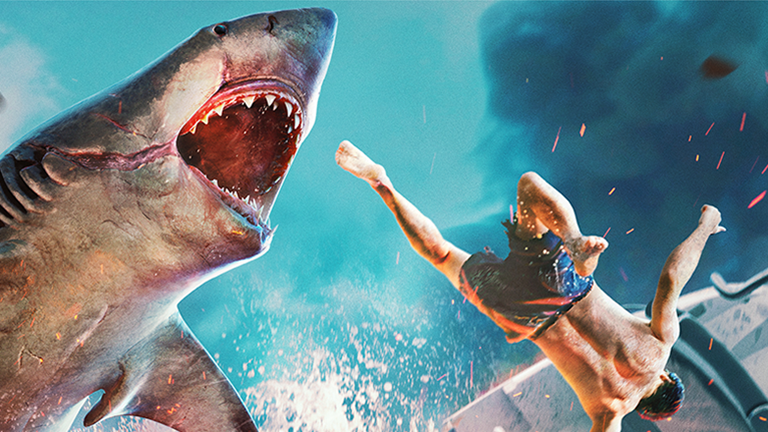 Screenshot des Action-Games Maneater: Hai jagt Mensch