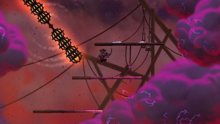 Screenshot aus dem Game Rogue Legacy 2