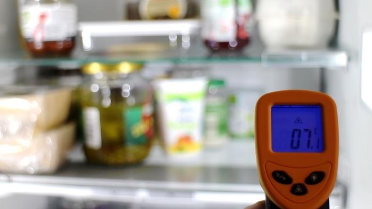 Sieben Grad ist die Idealtemperatur für Kühlschränke - gemessen in der Mitte.