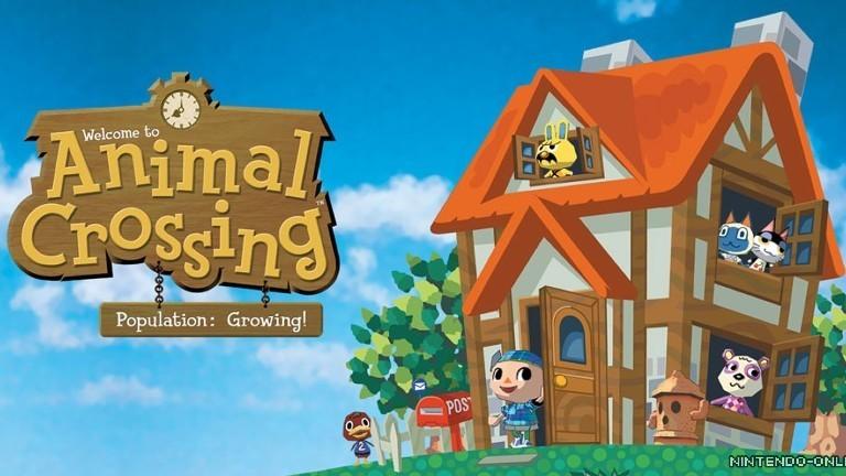 Das Computerspiel Animal Crossing von Nintendo