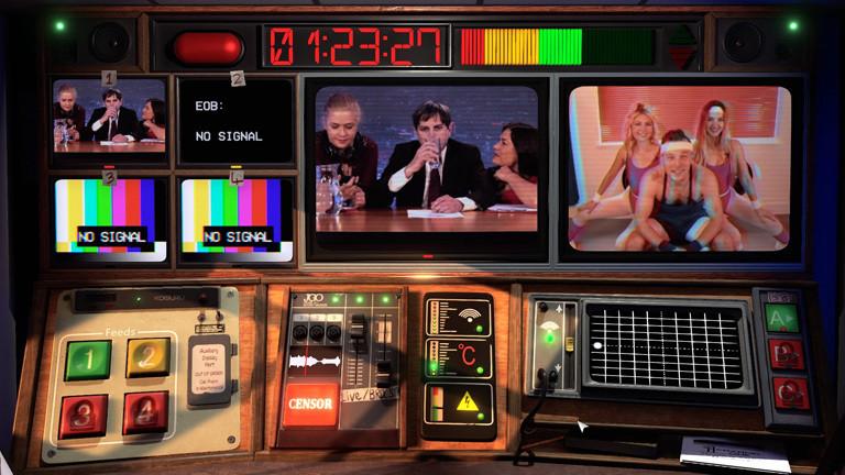 "Computerspiel ""Not For Broadcast"""
