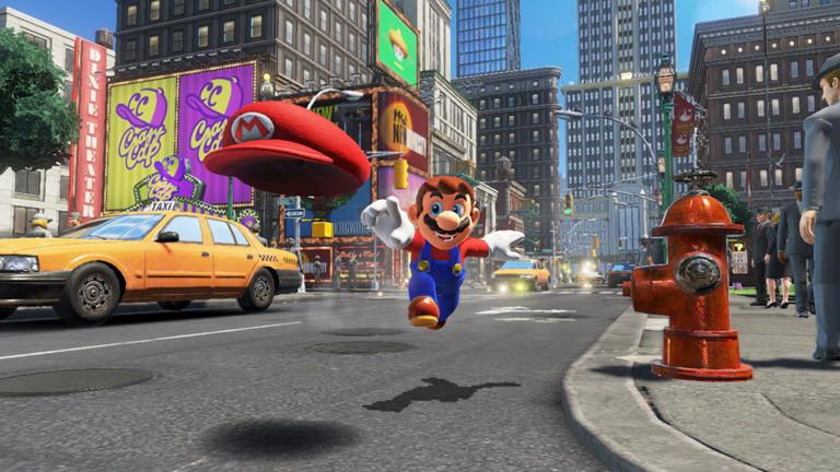 Screenshot: Super Mario Odysee