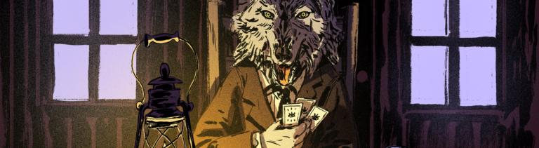 Der Teufel sitzt als Wolf am Pokertisch