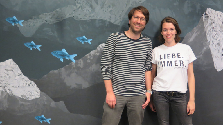 Sebastian Sonntag und Jannike Stöhr