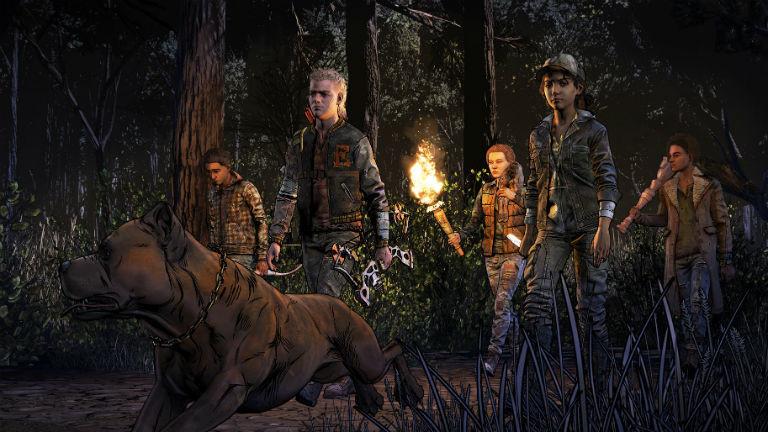 "Screenshot Trailer aus ""The Walking Dead - The Final Season"""