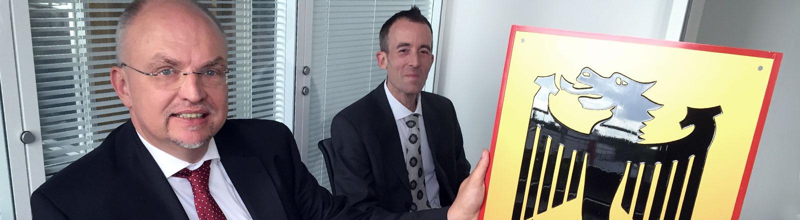 Hagen Ulrich vom Bundesamt für Magische Wesen