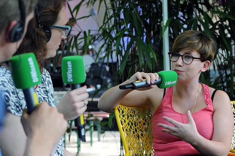 Marie-Luise Heimer im Gespräch