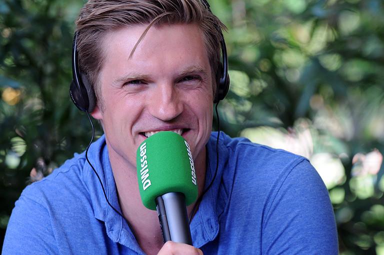 Moderator Thilo Jahn.