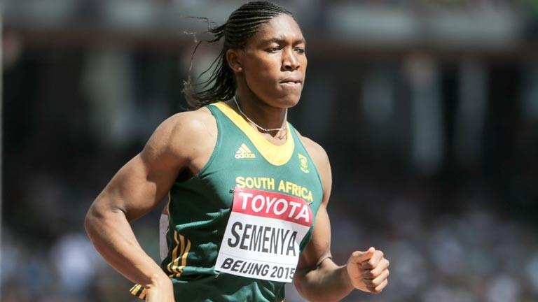 Transgender-Athletin Caster Semenya.