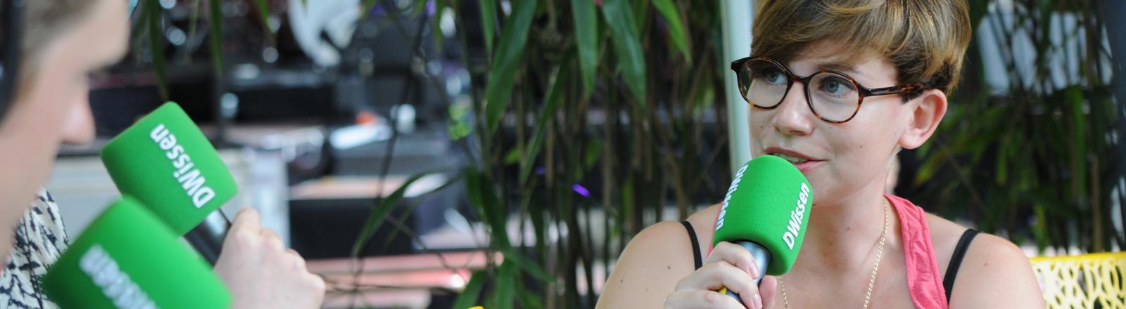 Marie-Luise Heimer von Spotify im Gespräch