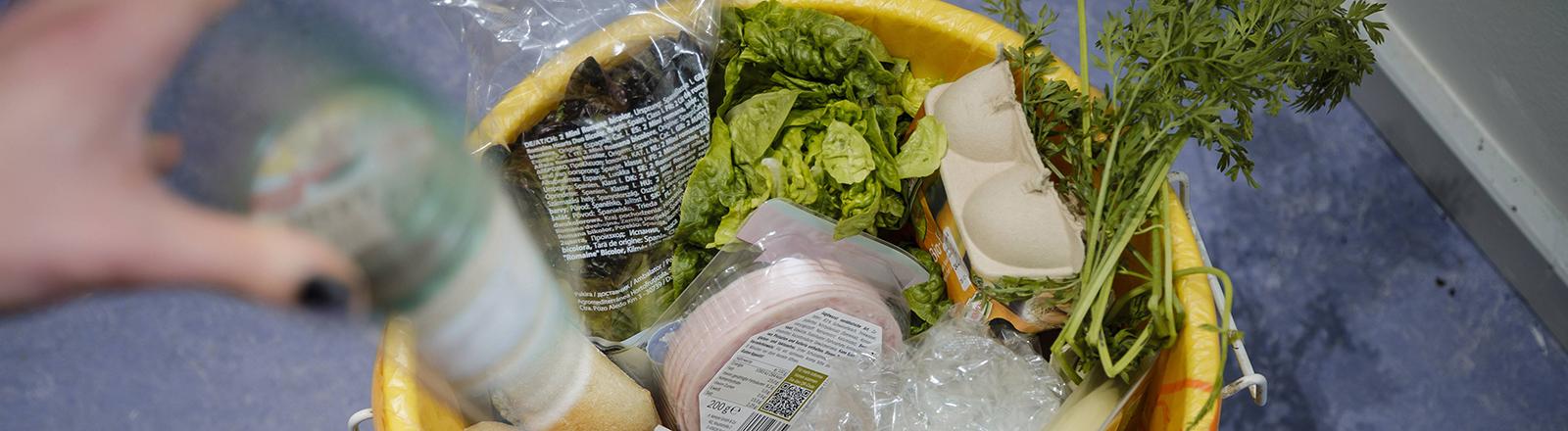 Lebensmittel Müll