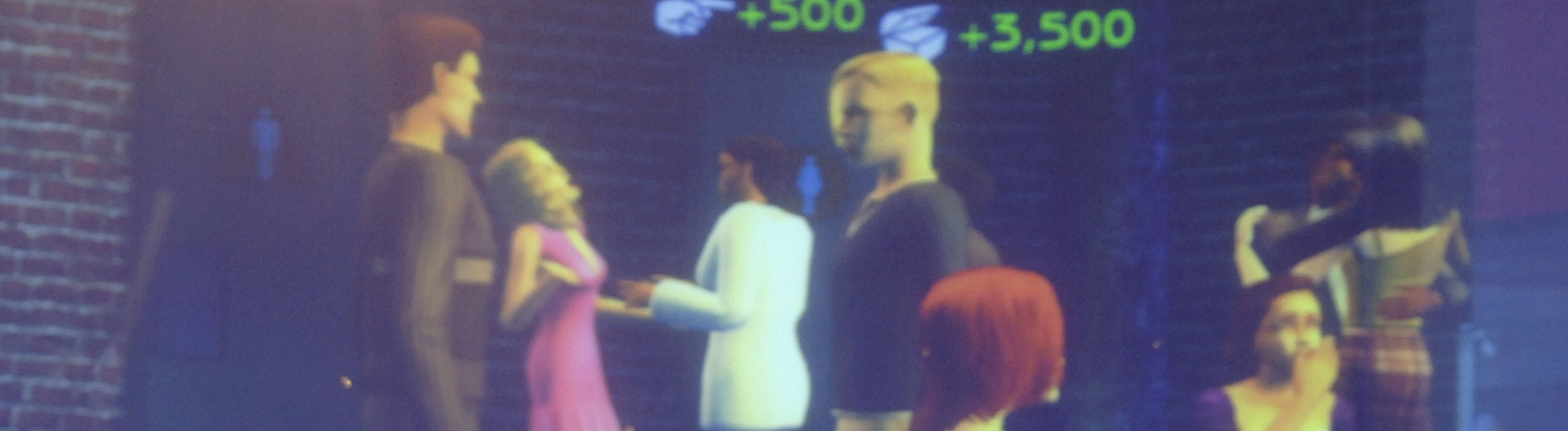"Screenshot Computerspiel ""SIMS 2"""