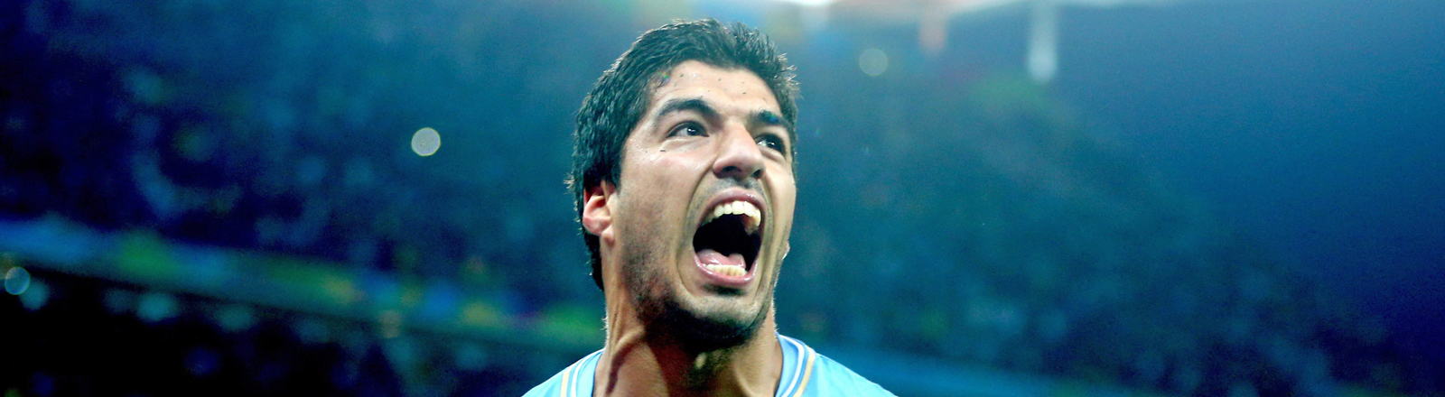 Der Fußballspieler Luis Suarez